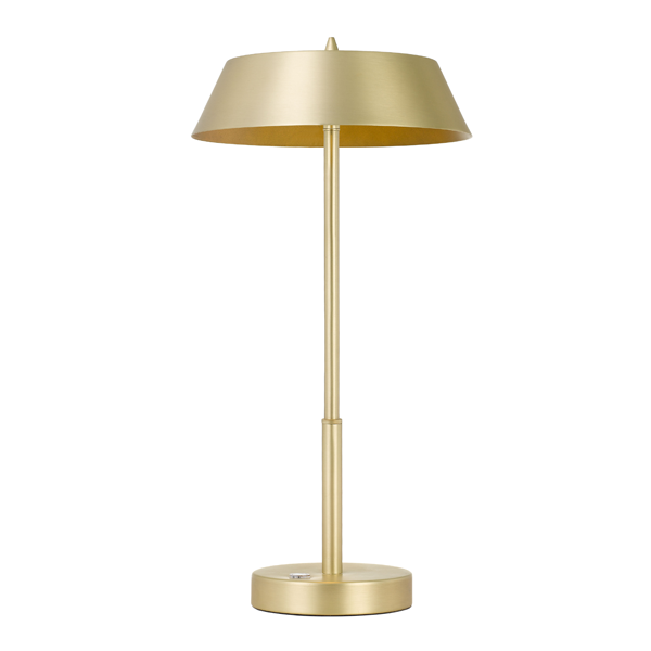 Allure Brass and Gold Table Touch Lamp