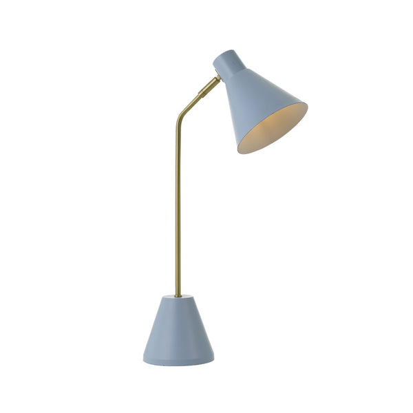 Ambia Blue Desk Lamp
