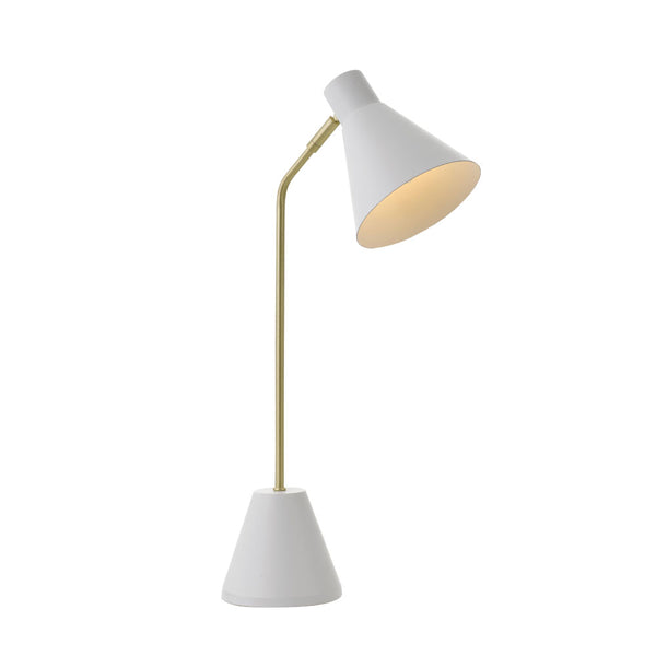 Ambia White Desk Lamp