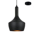 Austin Black on Black Hybrid Industrial Pendant by Amond