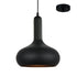 Bowen Black on Black Hybrid Industrial Pendant by Amond