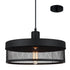 Karsen 360 Large Modern Cylindrical Cage Pendant by Amond