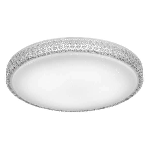 Amelia 60 Round Lattice 50w LED Oyster
