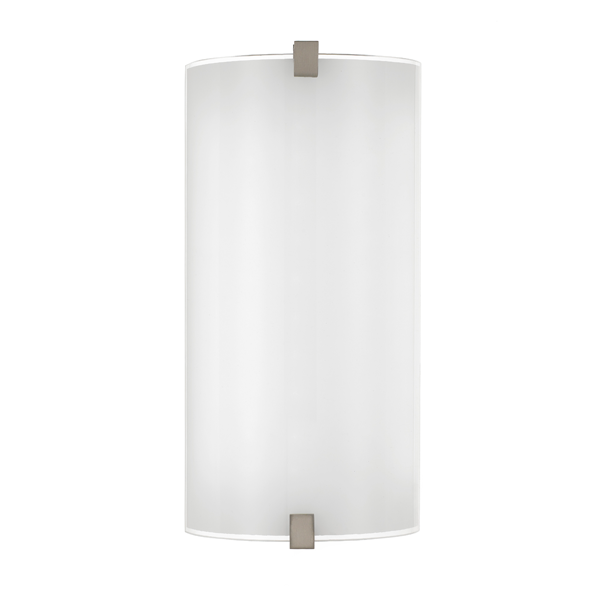 Arla Colour-changing Curved Glass Wall Light
