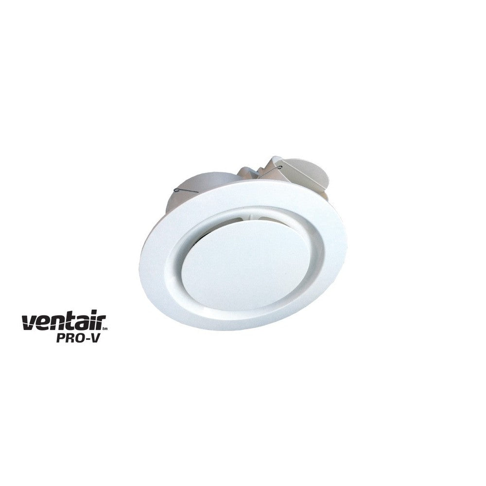 Airbus Round 200 White Exhaust Fan