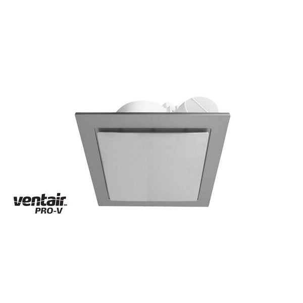Airbus Square 200 Silver Exhaust Fan