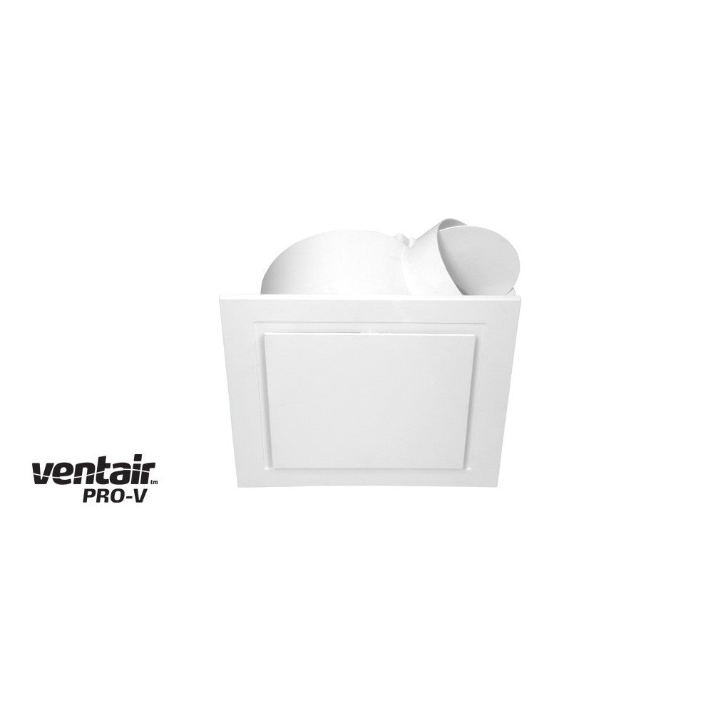 Airbus Square 250 White Exhaust Fan