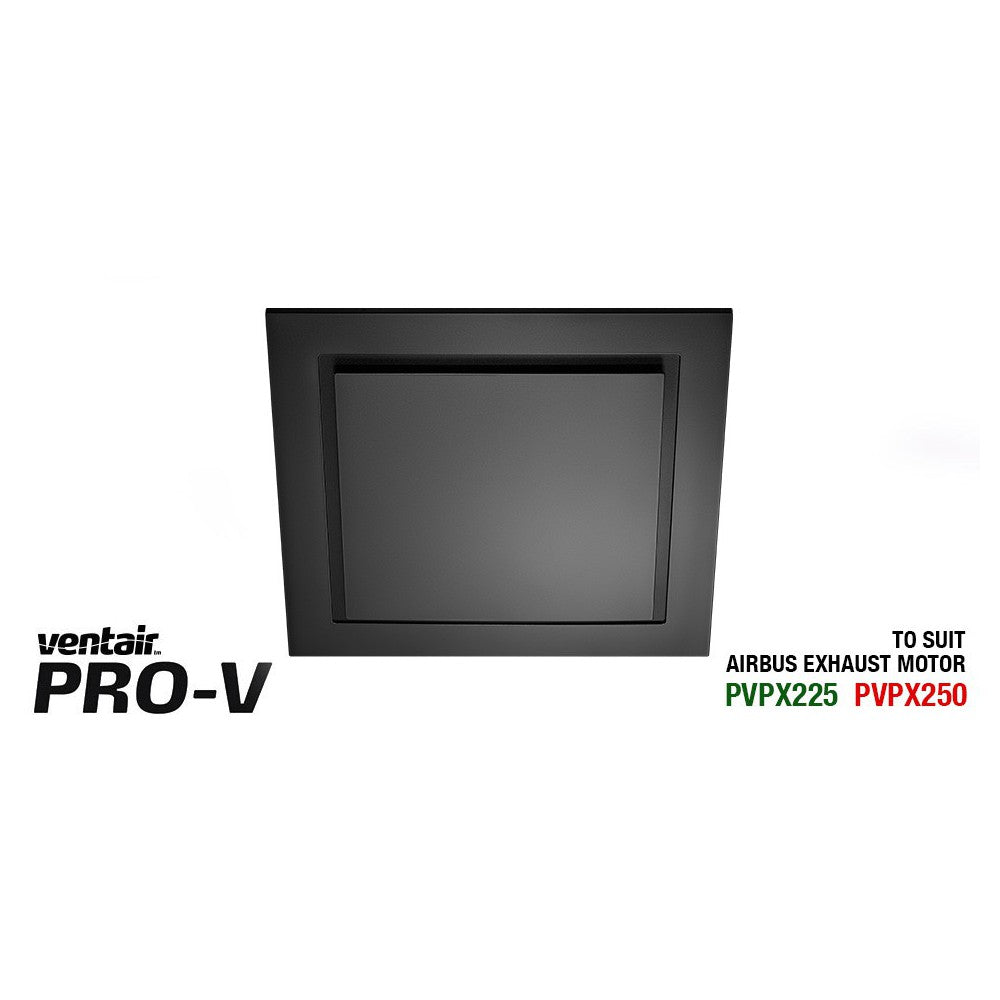 Airbus Square 250 Black Exhaust Fan