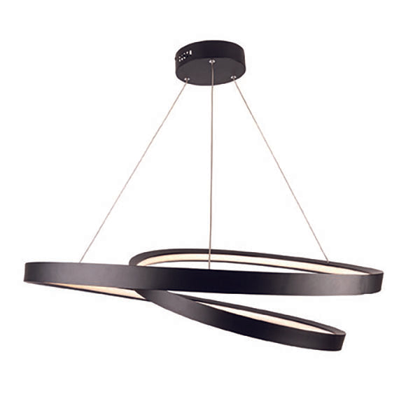 Armstrong LED 45w Black Contemporary Pedant
