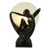 Art Deco Graceful Dancer Lady Lamp