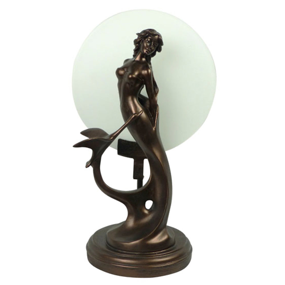 Art Deco Swan Lady Lamp