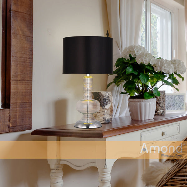 Astra Bottle Vase Table Lamp by Amond