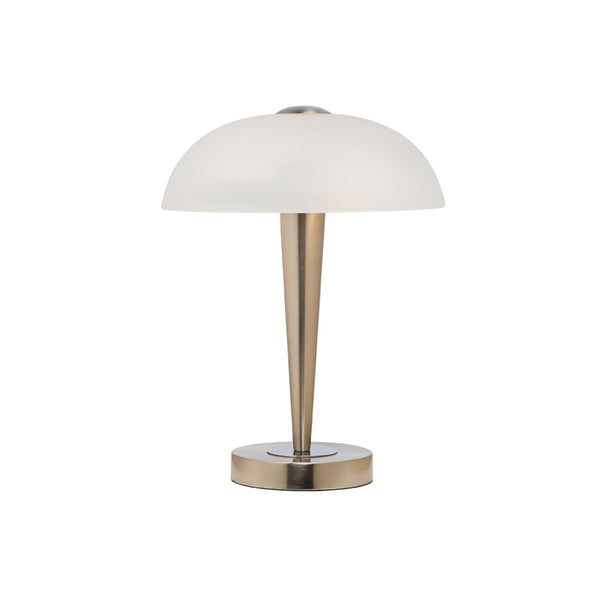 Bonita Brushed Chrome On/Off Table Touch Lamp