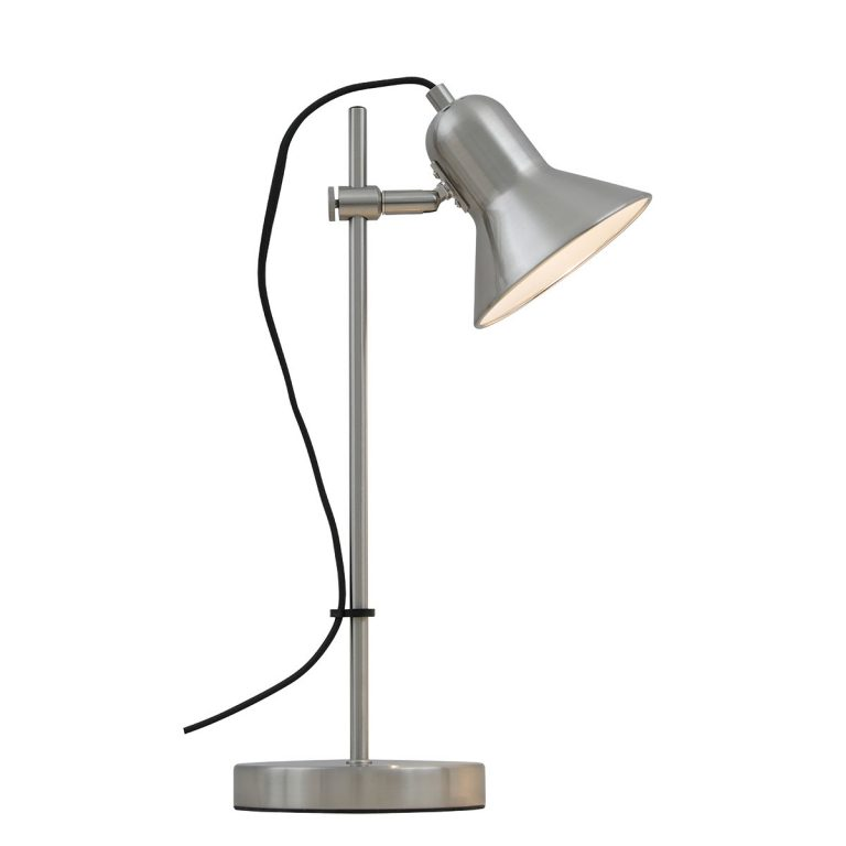 Corelli Nickel Adjustable Table Lamp