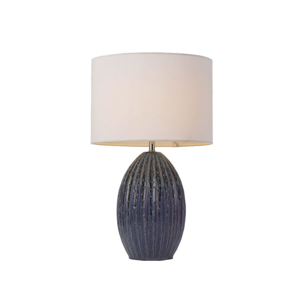 Darla Blue Pearl Table Lamp