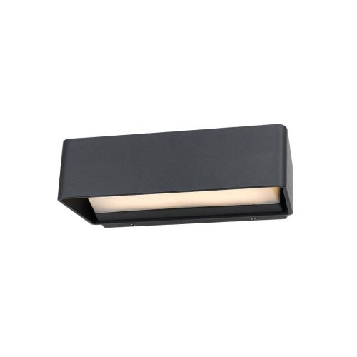 Enrica Charcoal and Acrylic Wedge Box LED Exterior Highlighter