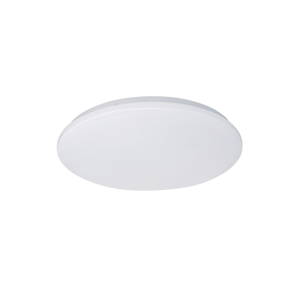Eva 18w Tri Colour Round LED Oyster Ceiling Light