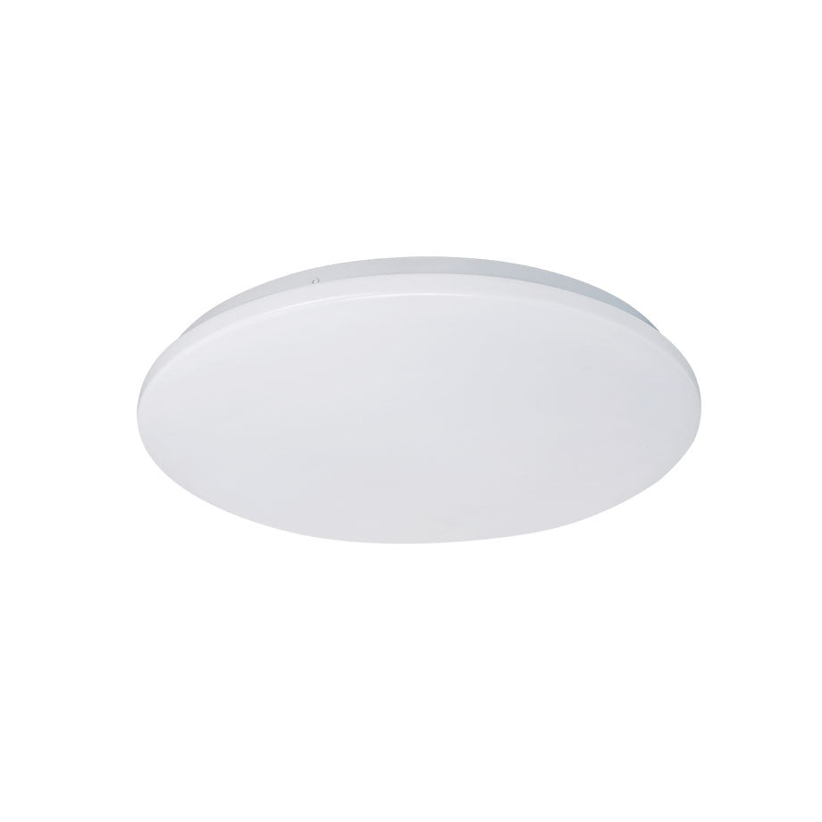 Eva 24w Tri Colour Round LED Oyster Ceiling Light