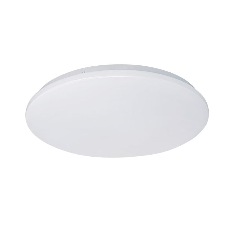 Eva 32w Tri Colour Round LED Oyster Ceiling Light