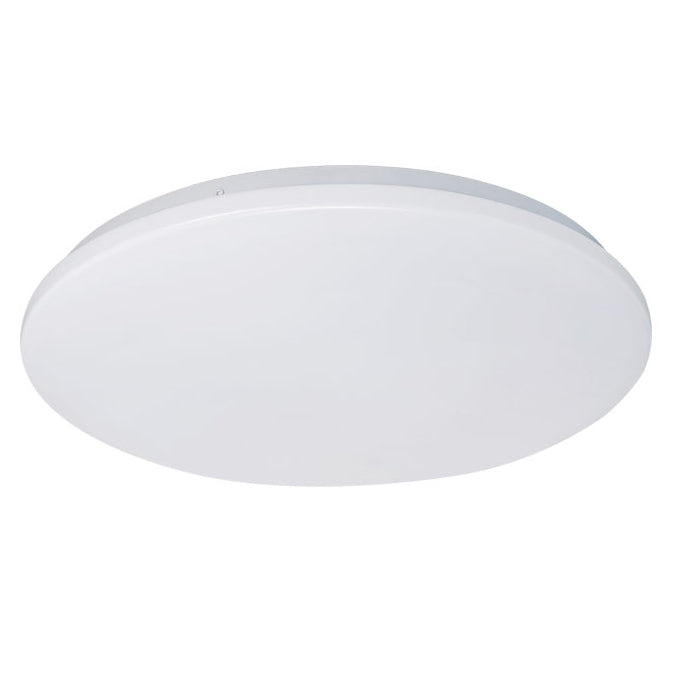 Eva 36w Tri Colour Round LED Oyster Ceiling Light