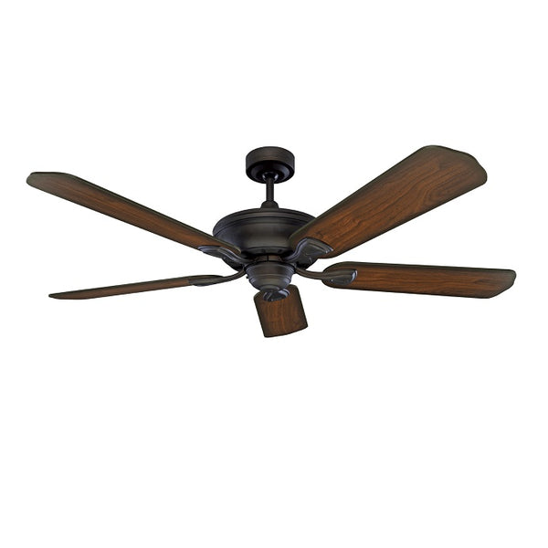 Healey 1300mm Oil-Rubbed Bronze Reversible Five-Blade Ceiling Fan By Mercator