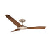 Sorrento Brushed Chrome 1300mm 3-Blade DC Motor Ceiling Fan By Mercator