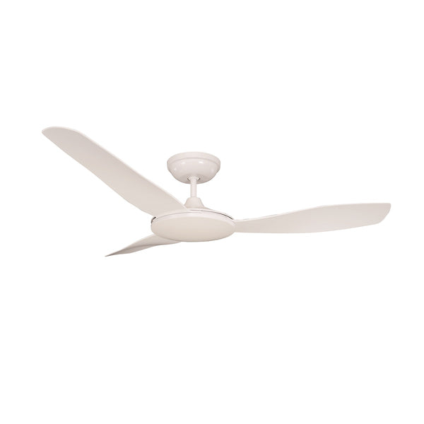 Sorrento White 1300mm 3-Blade DC Motor Ceiling Fan By Mercator