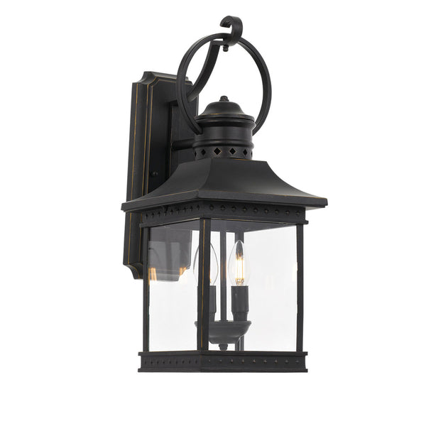 Fergus 2 Light Victorian Lantern Exterior Coach Light
