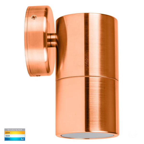 Tivah 1 Light Solid Copper Wall Exterior