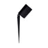 Oasis 12w Aluminium Black Spike Garden Light