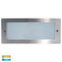 Bata Open-face 316 Stainless Steel Recessed Wall Brick Light