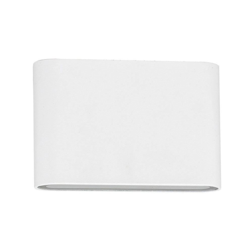 HV3641 Lisse White Fixed Down LED Wall Light