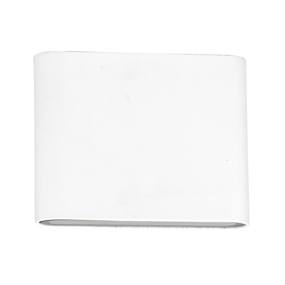 HV3642 Lisse White Up/Down LED Wall Light