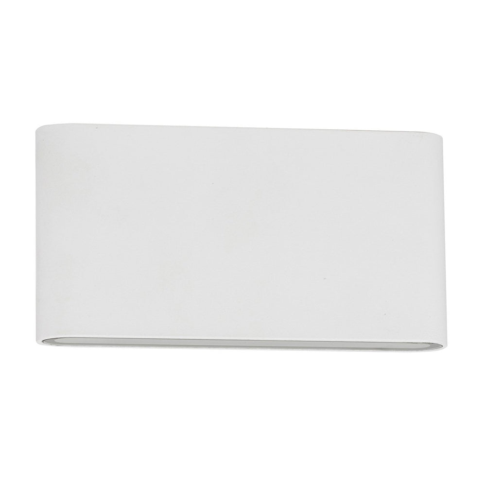 HV3644T Lisse Large White Up/Down LED Wall Light