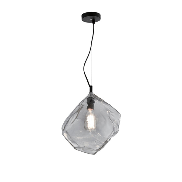 Ice Replica Icecube Glass Pendant by Amond