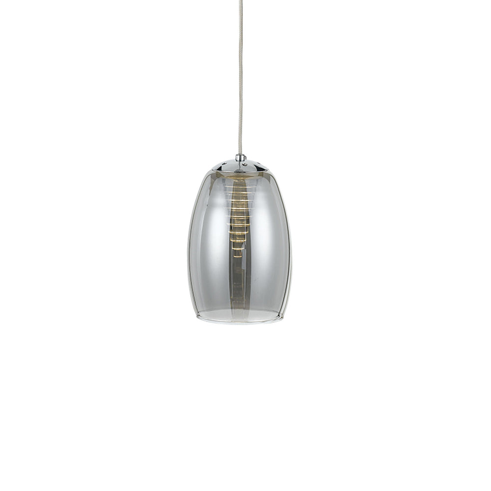 Kalani Smoke Vortex Diffuser Glass LED Pendant
