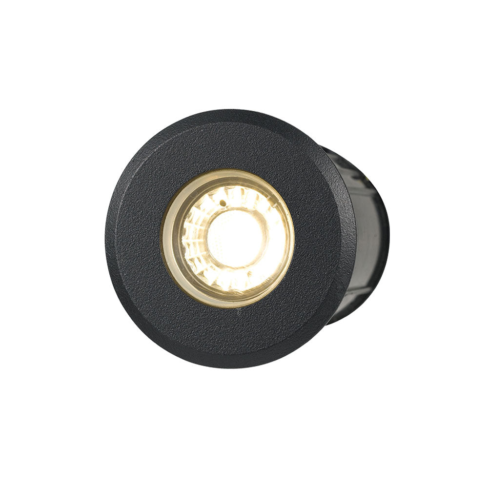Luc 3w 12V Black In-ground/Deck Light
