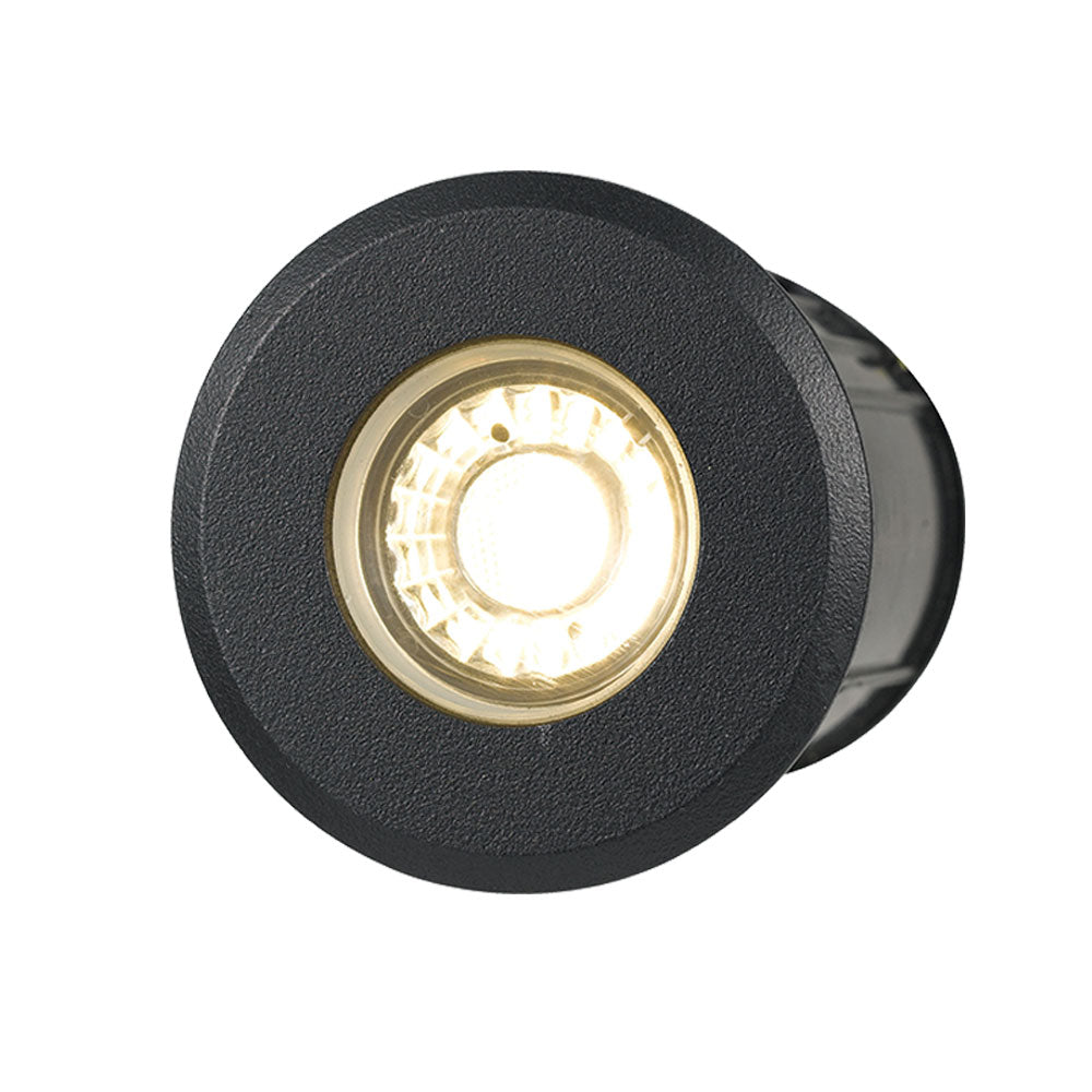 Luc 5w 12V Black In-ground/Deck Light