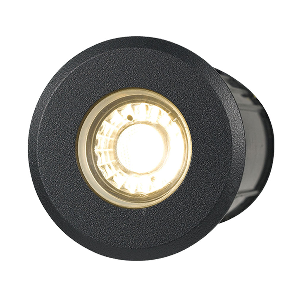 Luc 8w 12V Black In-ground/Deck Light