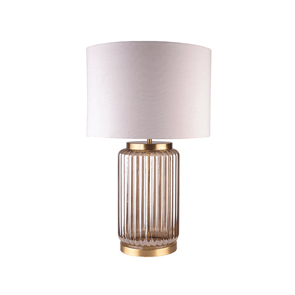 Lindsay Modern Champagne Glass Table Lamp