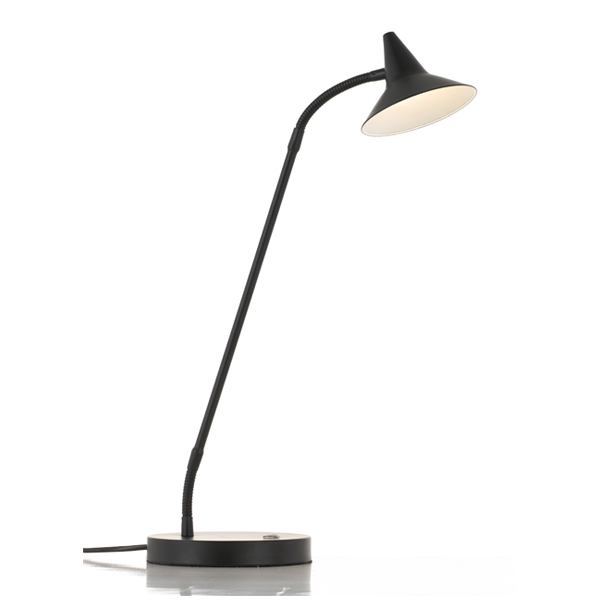 Marit Black Three Stage Touch Desk Lamp