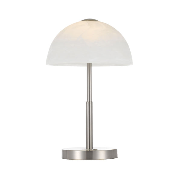 Marla Nickel Switch Dimming Touch Table Lamp