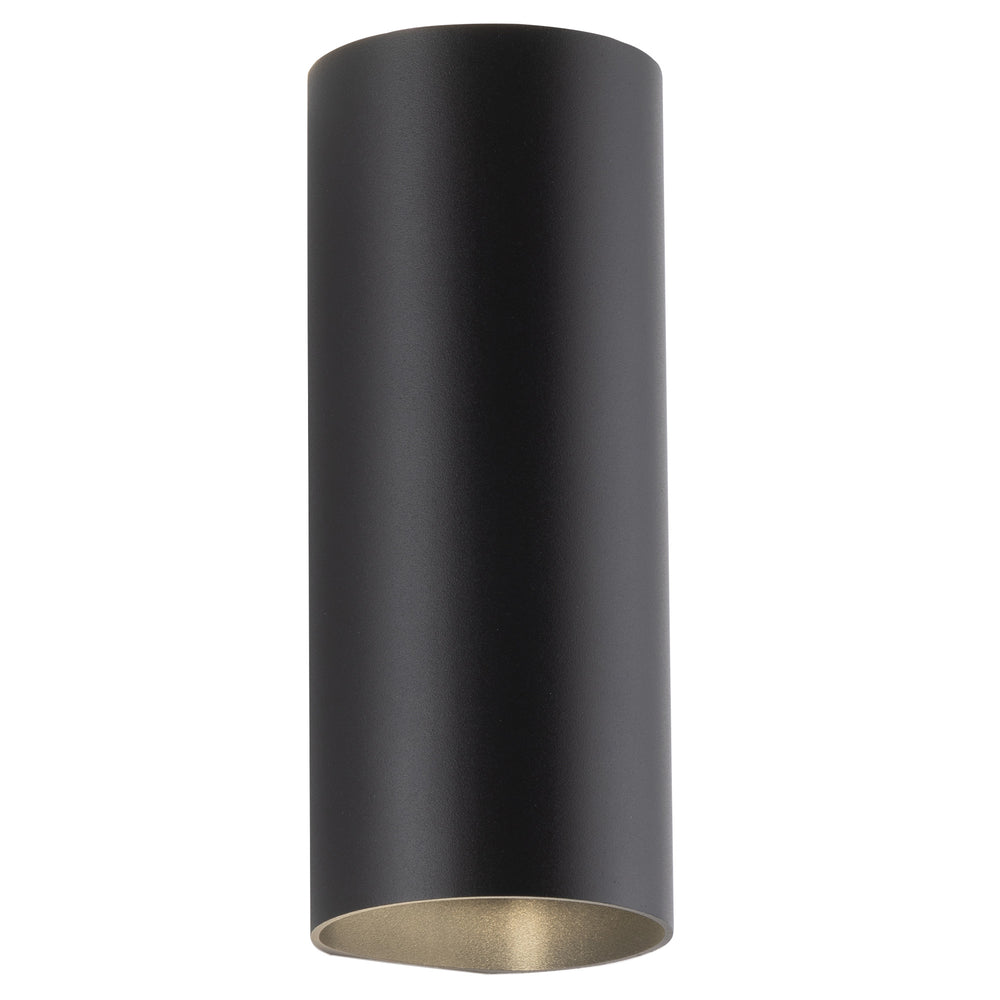Marshall Up/Down Black Modern Cylindrical Exterior