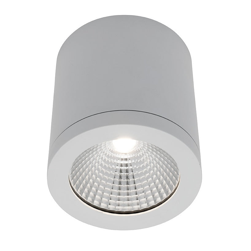 Cooper White 10w LED Surface-mounted Downlight 3000k