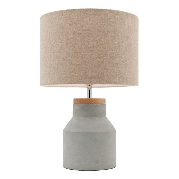 Moby Concrete Cylindrical Cone Table Lamp