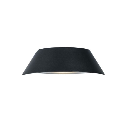 Mia Charcoal Trapezoid Up and Down LED Exterior Wall Light