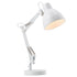 Fitzroy Adjustable White Modern Task Table Lamp