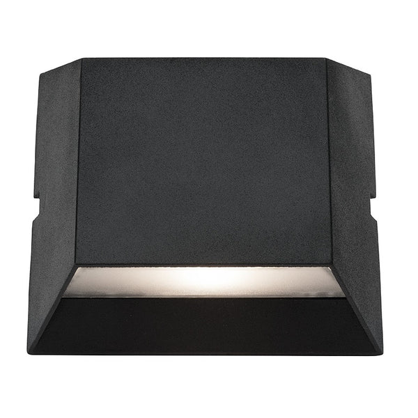 Ethan Square Trapezoid 2x5w LED Up/Down Exterior