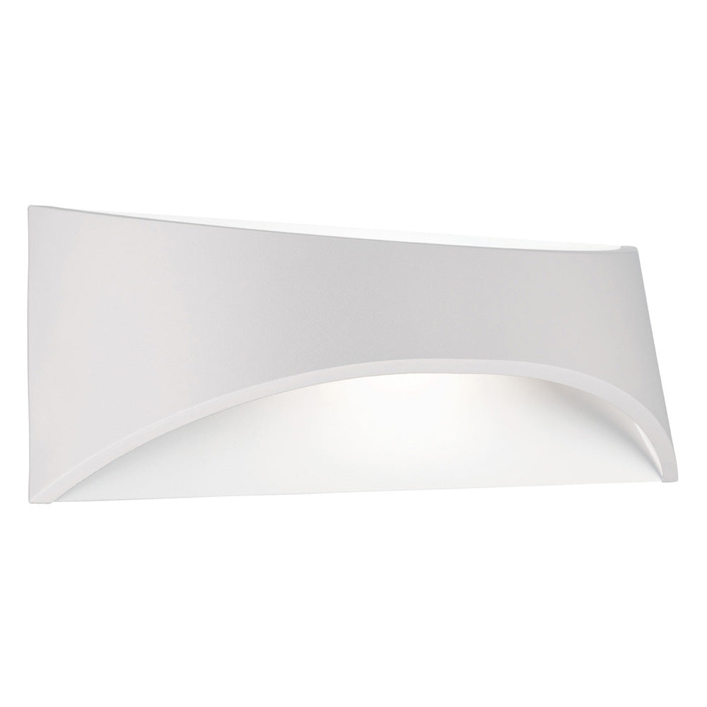 Wells 12w White Up/Down Highlighter Exterior Wall Light