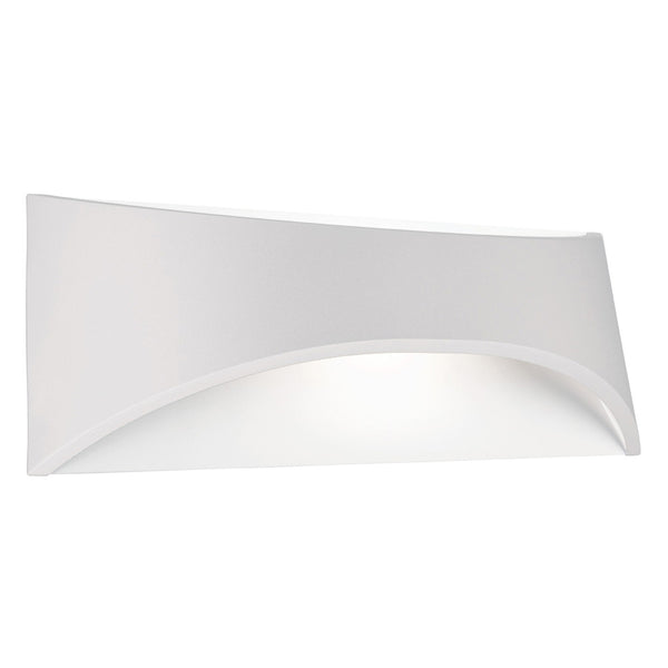 Wells 6w White Up/Down Highlighter Tri-Colour Exterior Wall Light
